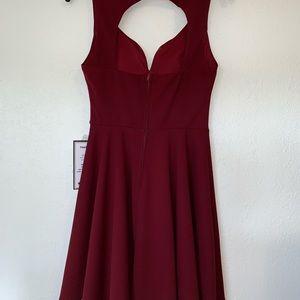 B Darlin Dresses - B Darlin Open-Back Fit & Flare Dress